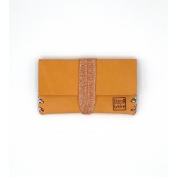 Porte-monnaie femme en cuir...